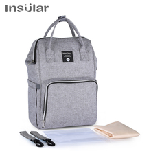 Insular Mummy Maternity Nappy Backpack Large Capacity Diaper Bag Travel Backpack Nursing Bag For Baby Care Womens Fashion Bags