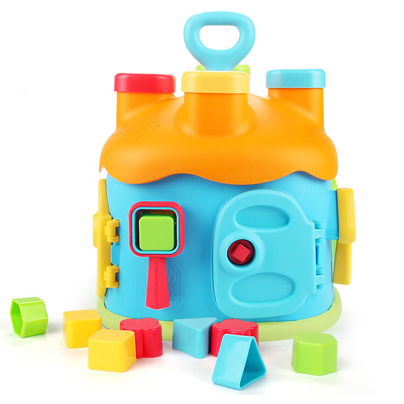 Baby Toys 13-24 Months Baby Building Blocks Educational Puzzle Game Toys For Baby Toddlers Infants Brinquedos Para Bebe Oyuncak
