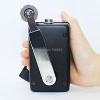 Portable Hand Crank Generator 30W Small Dynamo Outdoor Emergency Phone Charger