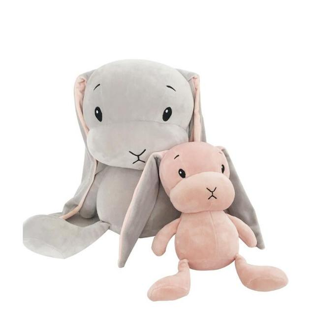 30 см счастливый кролик Куклы плюшевые игрушки детские, для малышей мягкие Животные Подушки Детские спальные Подушки Juguetes brinquedo Рождество подарок