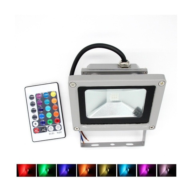 Rgb led flood light 10w foco led exterior spotlight ip65 led rgb led flood light 10w foco led exterior spotlight ip65 led outdoor light reflector spot floodlight aloadofball Choice Image