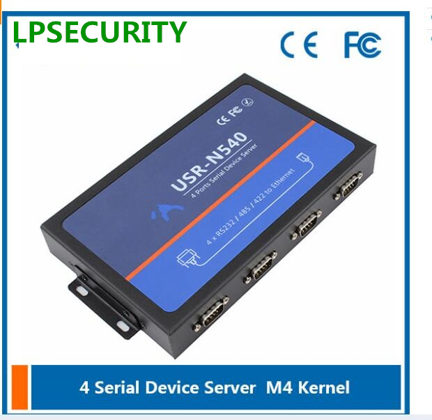 LPSECURITY USR-N540 RS232 to Ethernet RS422 to RJ45 RS422 to TCP IP Server Flow Control RTS CTS Supported