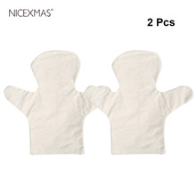 Kindergarten Cartoon Children's Handmade Creative DIY Painted Puppet Material Package with 2pcs White Canvas Finger Puppets
