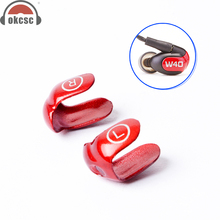 OKCSC Metal Faceplates for Westone W30 W40 W50 W60 Dual Driver with Screw Tools Interchangeable Cover Earphone Protect Cover цена