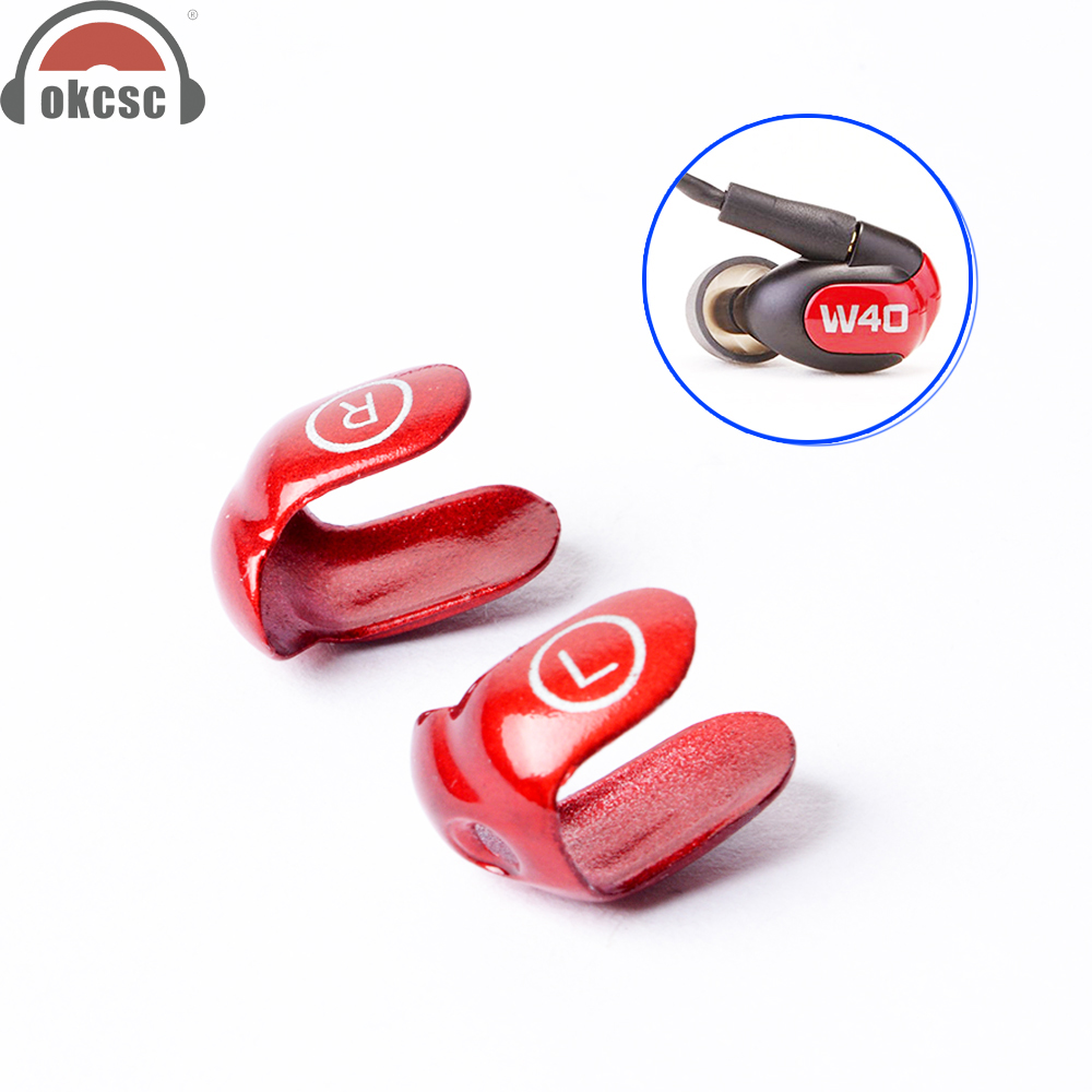OKCSC Metal Interchangeable Cover Earphone Changeable Faceplates for Westone W30 W40 W50 W60 Dual Driver with Screw Tools гарнитура westone w60