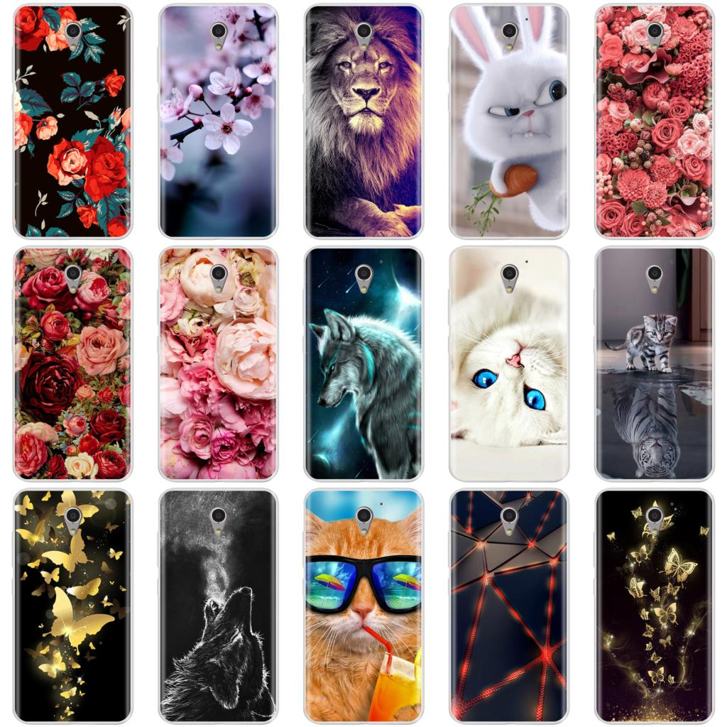 Phone Case For ZTE Blade A510 Soft Silicone TPU Cool Pattern Paint Back Cover For ZTE Blade A510 Case