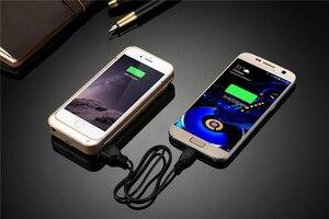 Image 2 - 4200 mAh 5 s Batterie Ladegerät Fall für iPhone 5C 5 5 s SE USB Power Bank Pack Stehen Power fall Backup Lade Zurück abdeckung