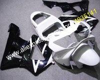 Лидер продаж, для Honda CBR900RR 2000 2001 CBR 929RR 00 01 929 CBR900 RR Черный Белый Мотоцикл передка обтекателя (литья под давлением)
