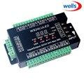 DMX512 Digital display 24CH DMX adresse Controller  DC5V-24V  jeder CH Max 3A 8 gruppen RGB controller