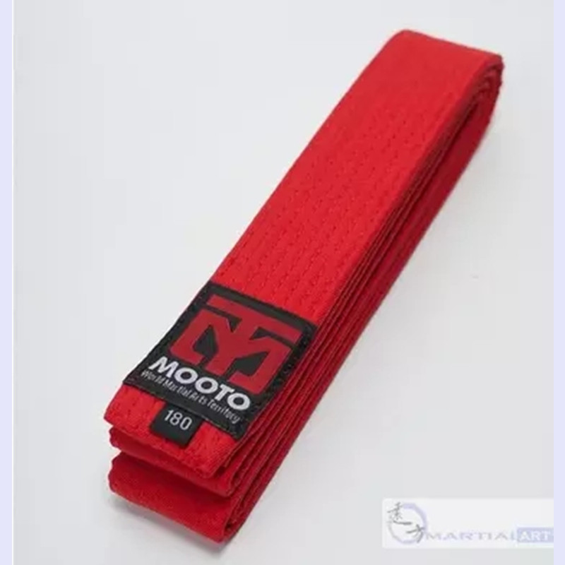 b202b3c15 100% ٪ أحزمة التايكوندو mooto أسود أحمر أخضر أصفر حزام الكاراتيه الجودو حزام  tkd الكاراتيه 10 مستويات المهنية الملونة حزام في 100% ٪ أحزمة التايكوندو  mooto ...