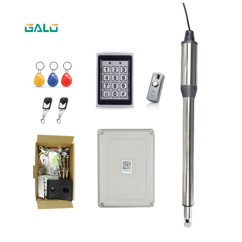 GALO single leaf 24VDC automatic swing gate door opener motors linear actuator