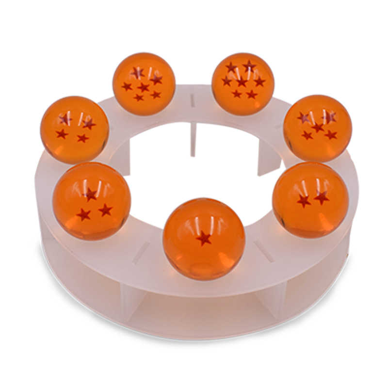 15cm anime dragon ball z figuras de ação shenron dragonball z figuras definir esferas del dragão 7 peças 3.5cm bolas prateleira figurinhas