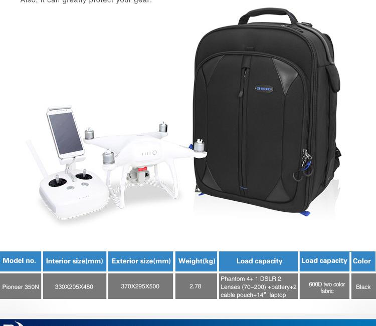 Pioneer 350N Drone Camera Bag 07