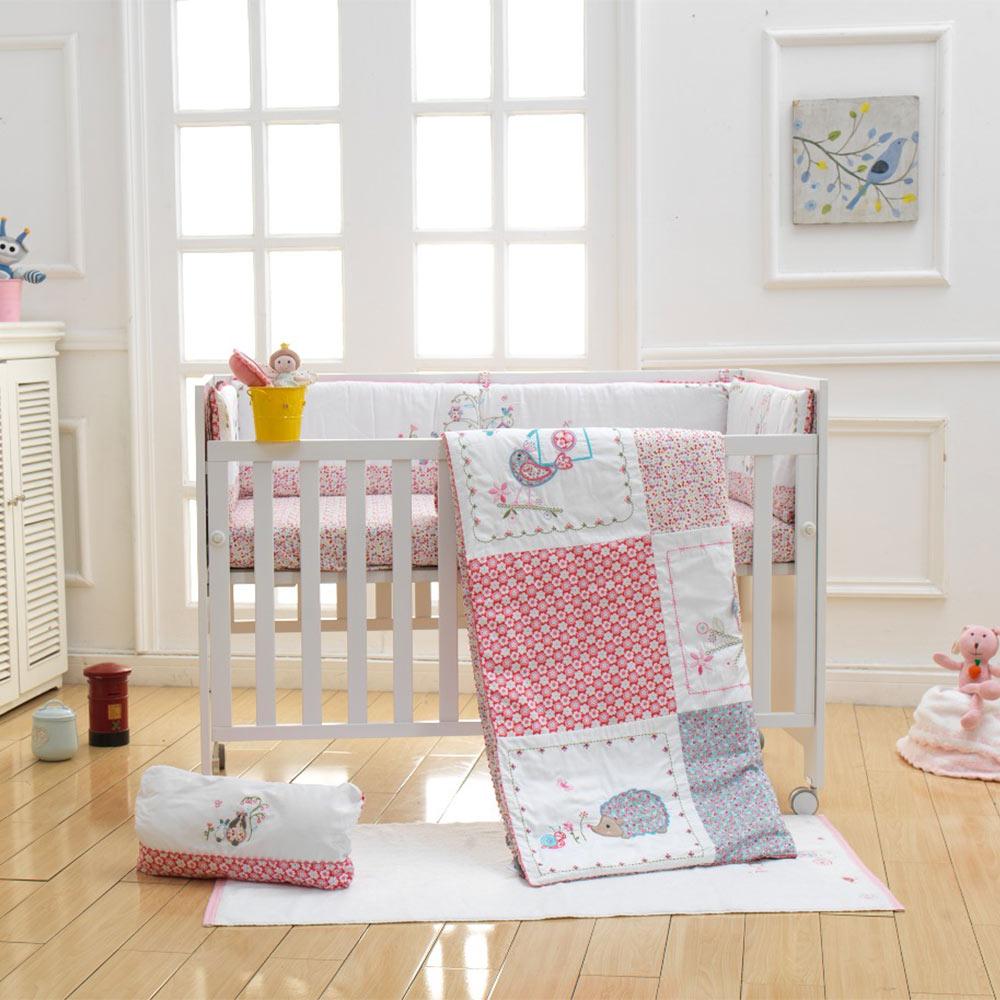 online get cheap baby unisex bedding aliexpresscom  alibaba group - ibaby newborn baby infant crib bedding set pcs dream land  cottonprinted