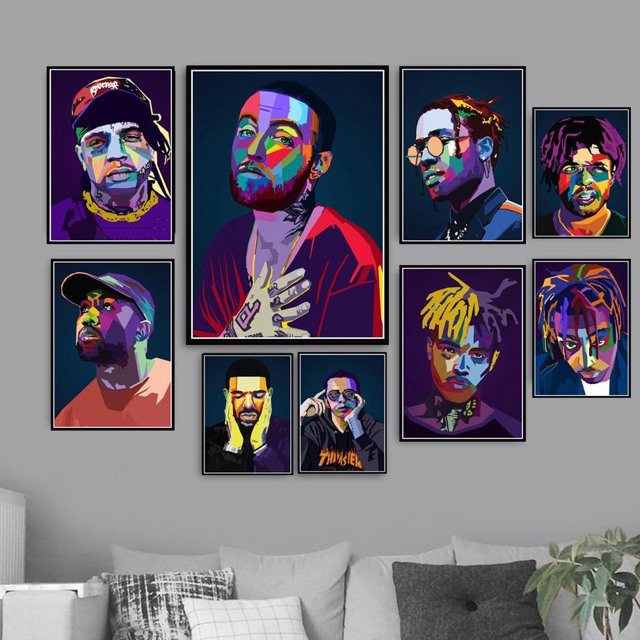 """V181 Mac Miller Hip Hop Rap Music Singer Rapper Star 24X36/"""" Art Silk Poster"""