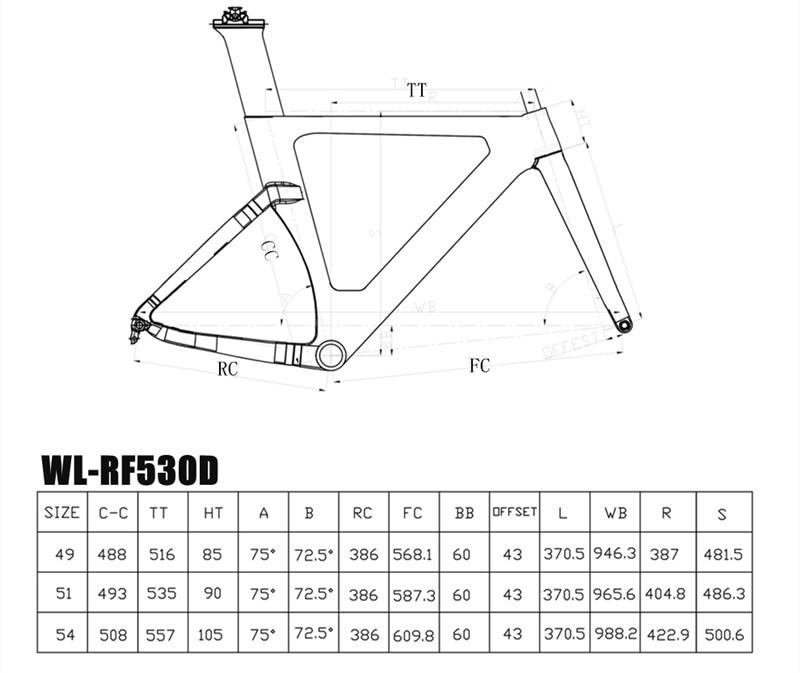 bb:bsa weight:1250g�40g  fork:390g  seatpost:330g  brake type:140mm flat  mount disc brake max tire:700*28c test:cen sgs warranty:24 warranty
