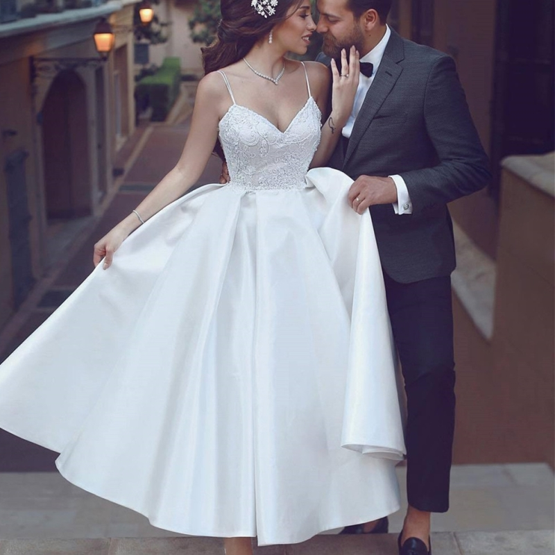 Cheap Short Wedding Gowns