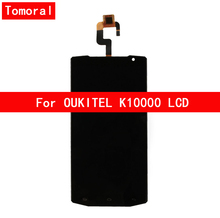 100% Tested Original  For OUKITEL K10000  Display+Touch Screen Digitizer Full LCD By Free Shipping