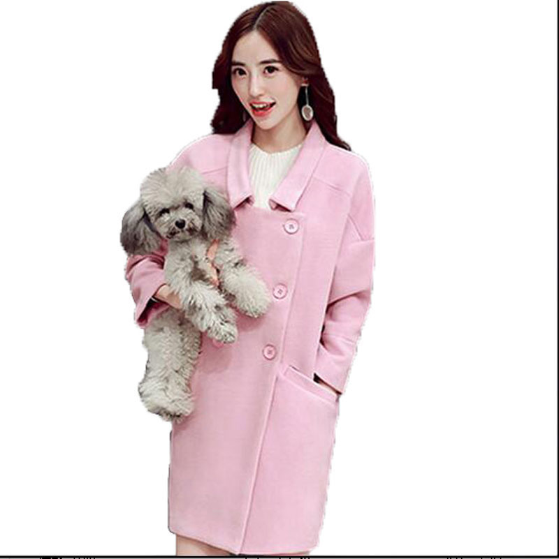 Popular Hot Pink Wool Coat-Buy Cheap Hot Pink Wool Coat lots from ...