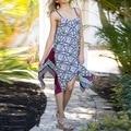 2017 Women Summer Spaghetti Strap Dress Long Bohemian Dress Sleeveless Loose Casual Summer Vestdios Print Summer Beach Dress 41