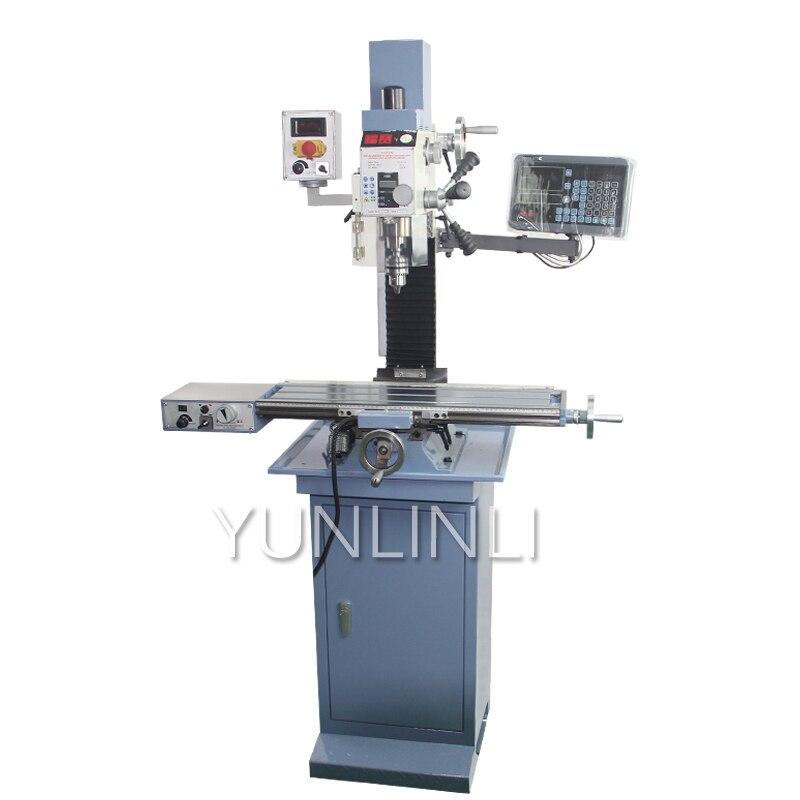 Fraiseuse et perceuse 25/16mm tout en un Machine de traitement des métaux multifonction robuste Machine à métaux outil FS-25V