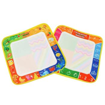 Popular Kids Board Painting Doodle Magic Pen Writing Water Drawing Mat Education Gift