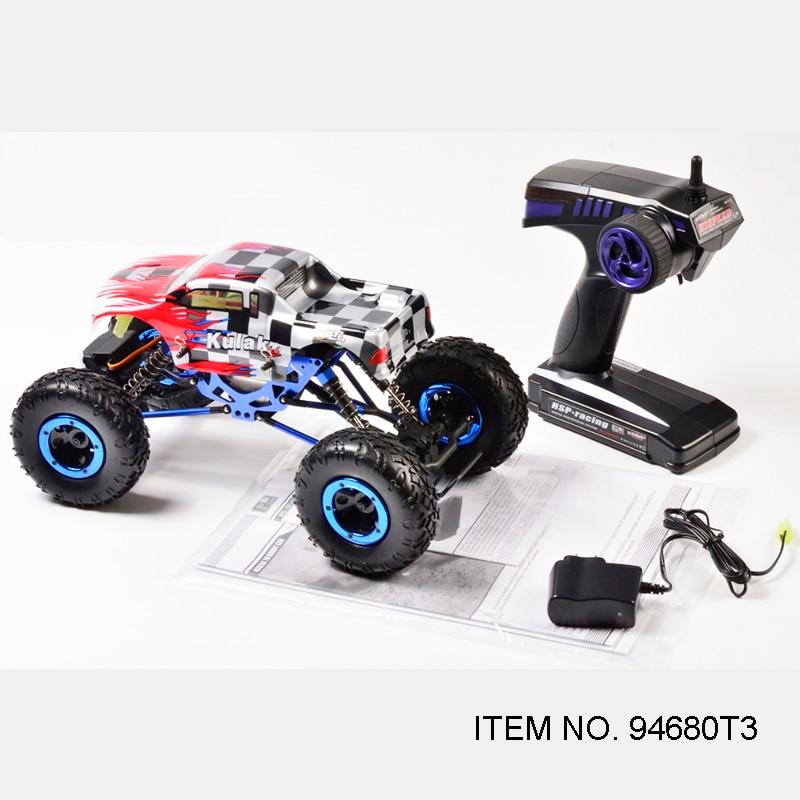 HSP RACING RC samochody KULAK 1/16 skala elektryczny samochód rock clawler zdalnie sterowany 4WD OFF ROAD gotowy do uruchomienia pilot zdalnego sterowania zabawki (pozycja, ale nie gwarantujemy poprawności wszystkich danych. 94680 T3) w Samochody RC od Zabawki i hobby na  Grupa 1
