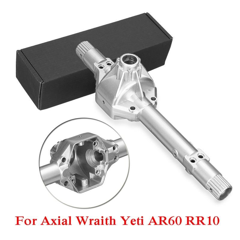 RC coche accesorios de acero de aleación carcasa del eje Extra agarre y durabilidad y sobre la Original piezas Axial de los espectros Yeti AR60 RR10