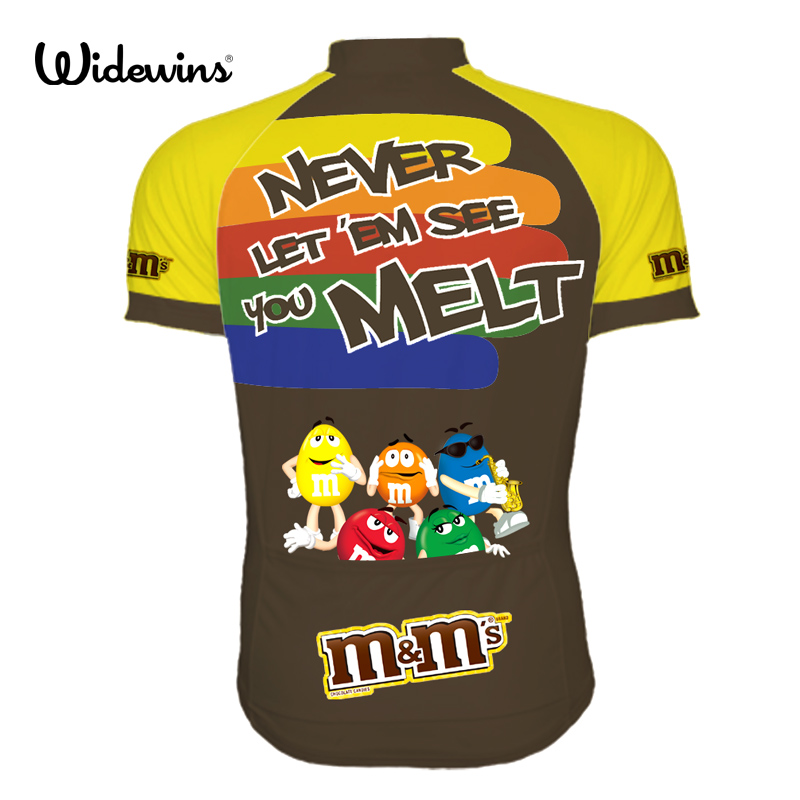 2017 new men s Ropa Ciclismo cartoon cycling jersey MMDS M cute ride shirt  widewins cycling clothing cool apparel garments 6502-in Cycling Jerseys  from ... 683e32102