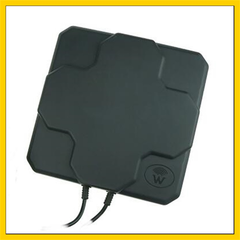 2*22DBi 4G LTE Aerial Directional MIMO External Antenna Outdoor Panel Antenna SMA Male Connector 10M Cable For 3G 4g  Router
