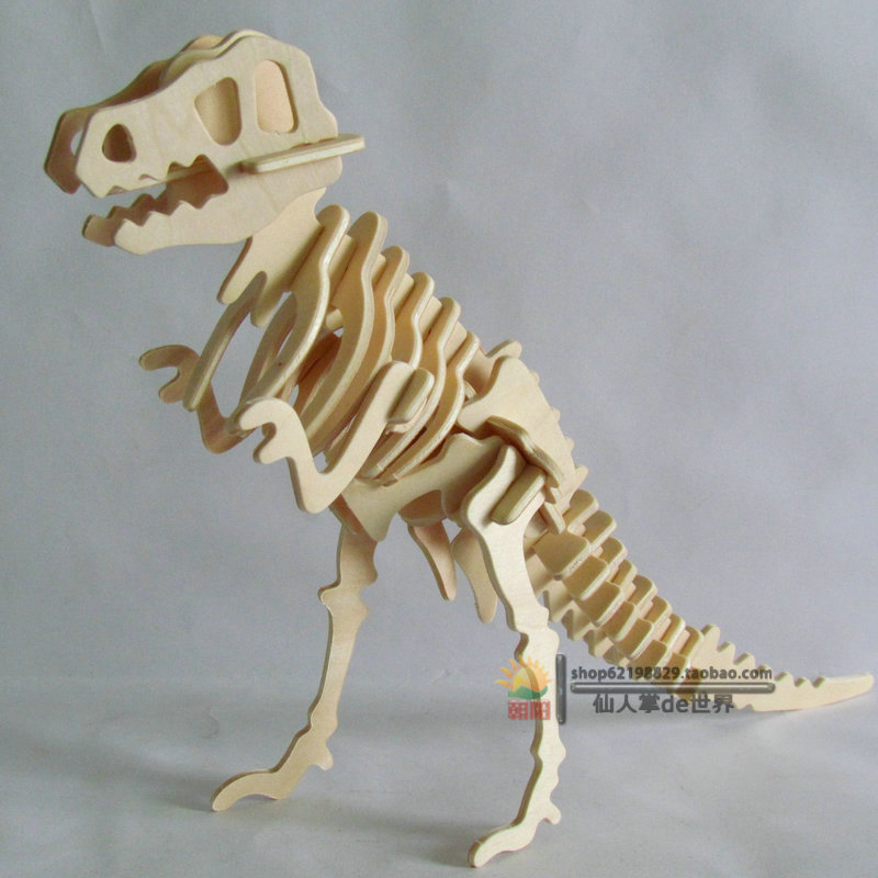 how to make 3d wooden animals