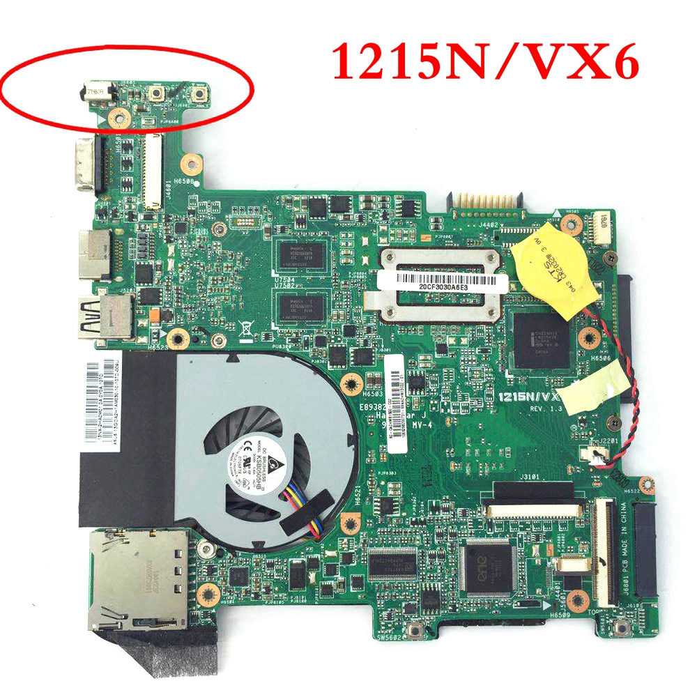 цена на 1215N/VX6 mainboard REV1.4 REV1.3 For ASUS 1215N/VX6 Laptop motherboard MAIN BOARD 100% Tested Working