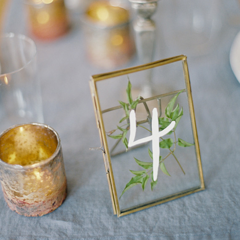 10pcs Stained Glass Frame, Photo Display, Pressed Flowers Display, Preserved Leaves Frame,wedding table number centerpiece number