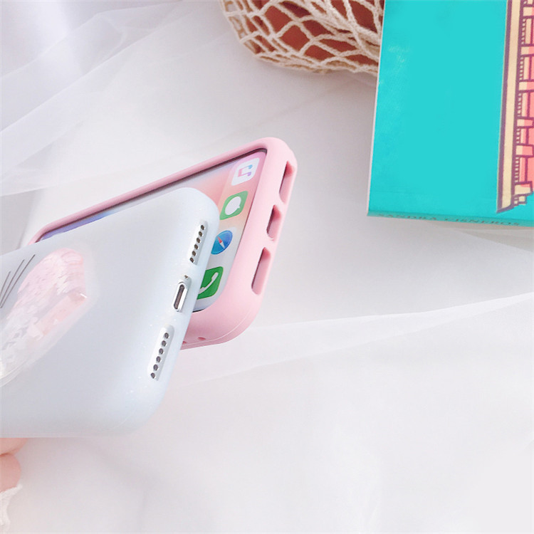 Cover for iPhone Xs Max Case 3D Silicon Unicorn Cartoon Phone Case for  iPhone XR Fundas case Cover for iPhone X XS case