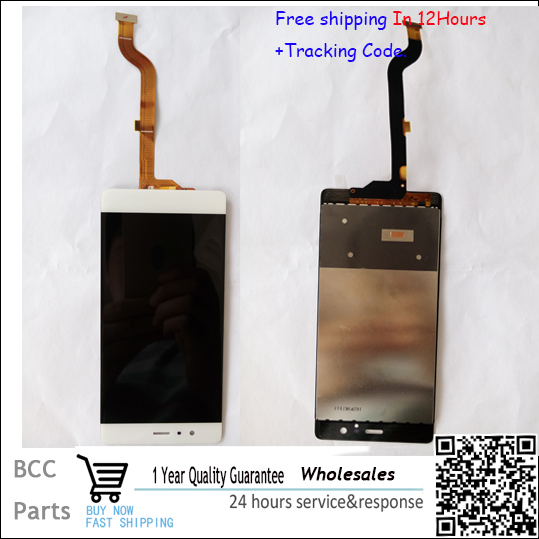 100% Original guarantee  white  For For Huawei P9  LCD disply+Touch screen Panel Digitizer +best quality original guarantee for htc desire x t328e lcd disply touch screen panel digitizer with frame gold or black color best quality