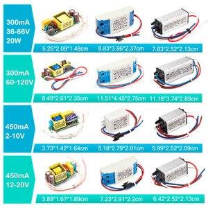 Image 3 - LED 드라이버 1W 3W 5W 10W 20W 30W 36W 50W 100W 300mA 600mA 900mA 1500mA 방수 조명 트랜스 포 머 DIY 램프 전원 공급 장치