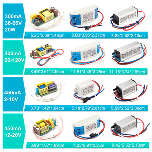 Image 3 - LED Driver 1W 3W 5W 10W 20W 30W 36W 50W 100W 300mA 600mA 900mA 1500mA Waterproof Lighting Transformers for DIY Lamp Power Supply