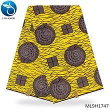 LIULANZHI african ankara cotton wax Dutch fabric 100% Cotton dutch high quality ML9H1728-ML9H1749