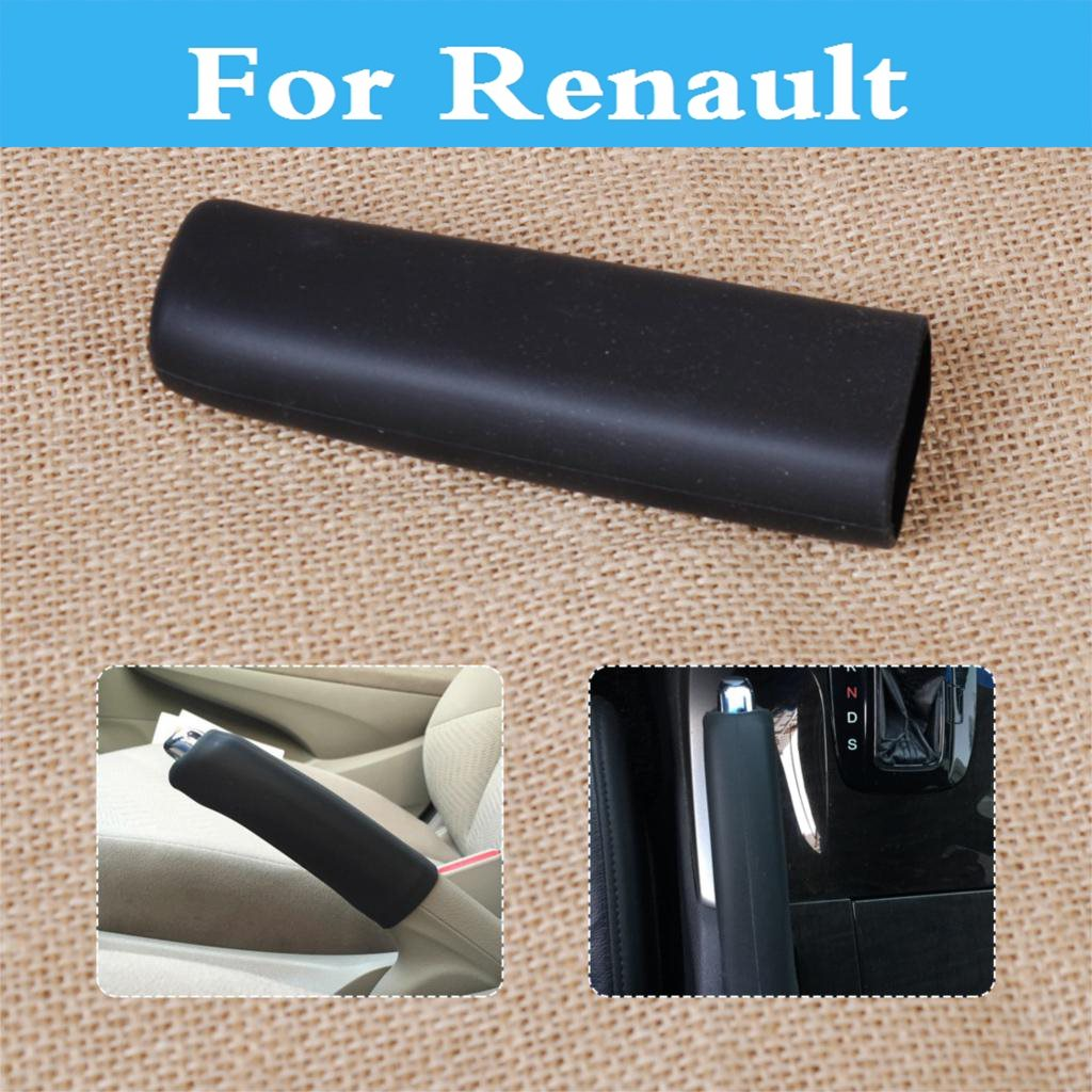 Car Handbrake Hand Brake Case Black Cover Sleeve Cover For Renault Duster Captur Clio Clio Rs Clio V6 Fluence Koleos Kadjar