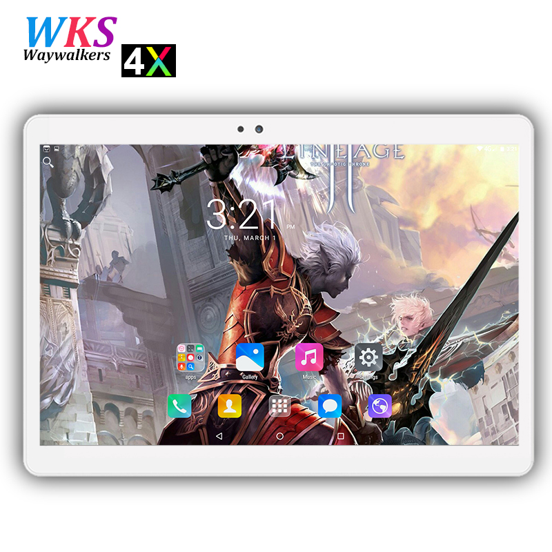 New 10 inch tablet pc 10 core Android 7.0 RAM 4GB ROM 64GB 1920*1200 IPS Dual SIM card wifi Bluetooth GPS Smart tablets pcs 10.1 waywalkers 10 inch tablet pc android 7 0 octa core ram 4gb rom 32 64gb 1920 1200 ips dual sim wifi bluetooth gps tablets phone
