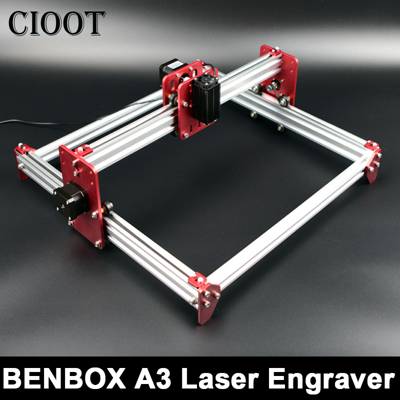 New BENBOX A3 laser machine,BENBOX software,laser engraving machine,all metal frame,DIY Mini Laser Engraving Machine,Advanced цена