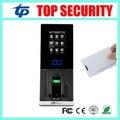 Barato nueva llegada de la puerta de huellas dactilares lector de control de acceso, opcional fingervein de tarjetas TCP/IP RFID controlador de acceso zk teco