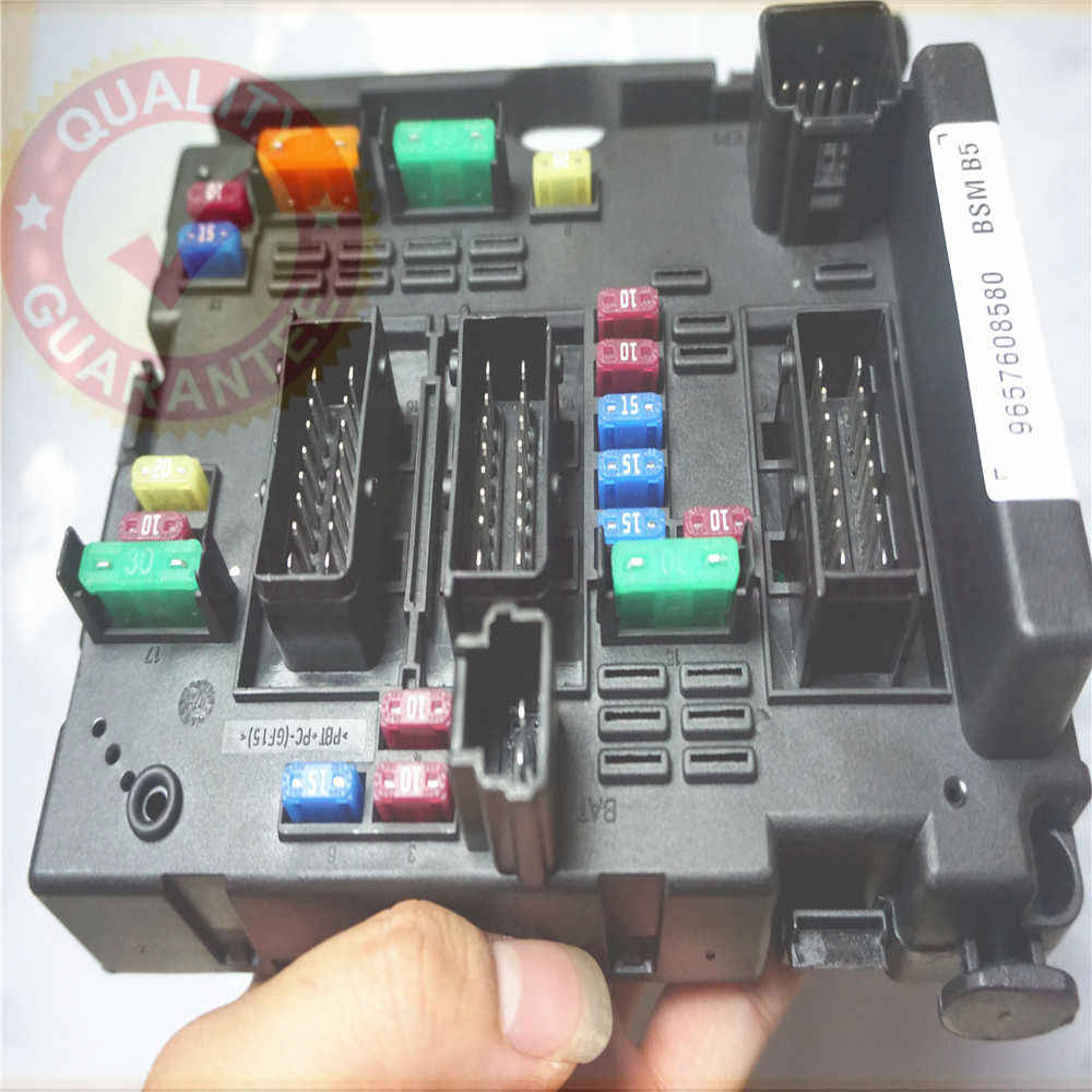 hight resolution of 9650663980 fuse box module general system relay controller body control for citroen c3 c5 c8 xsara