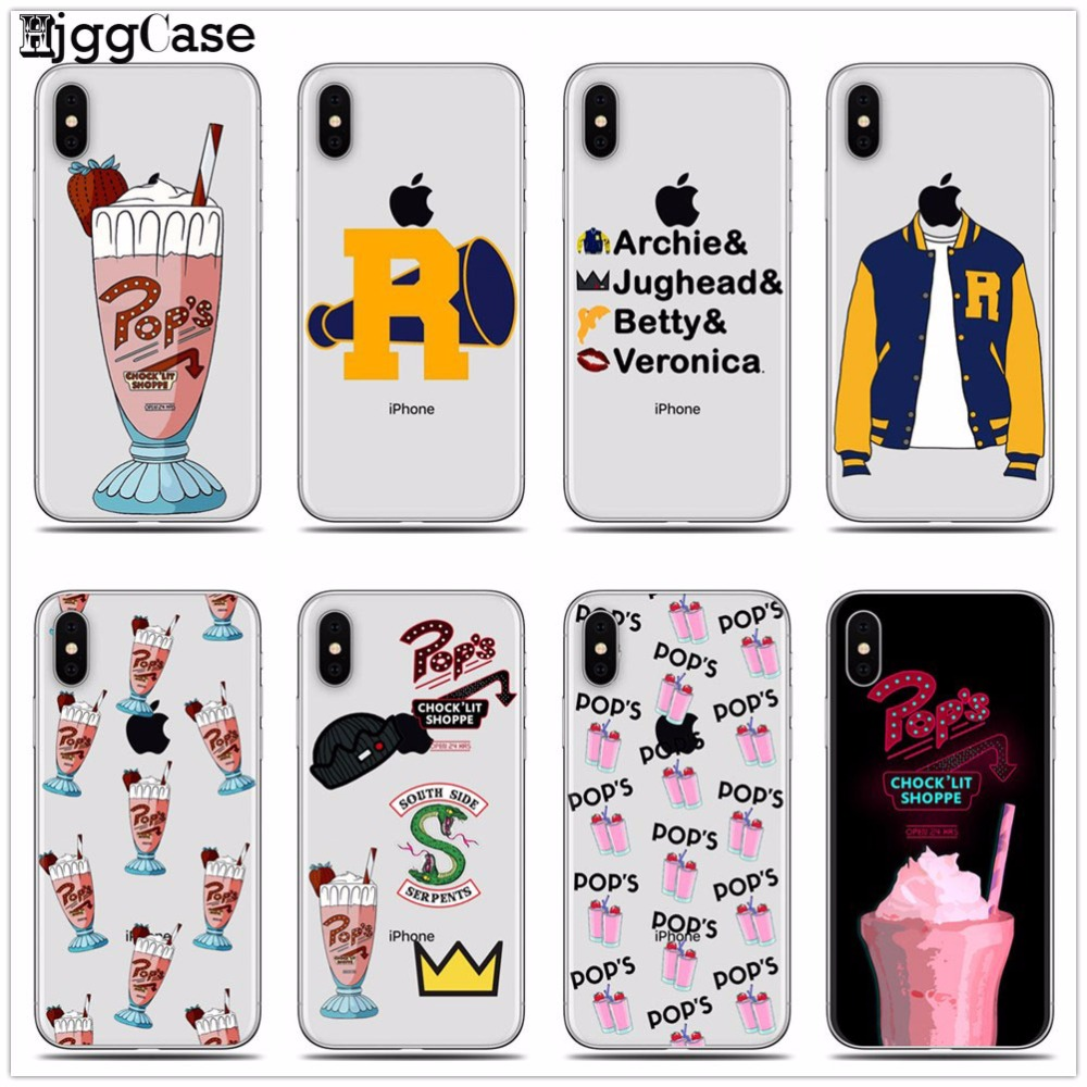 Riverdale Milkshake Cases Covers TPU Soft Case For iPhone