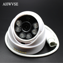 AHWVSE POE HD 1280 x 960P 1.3MP Indoor IP Camera 6IR LED Dome Security Camera ONVIF P2P IP CCTV Cam System with IR-Cut