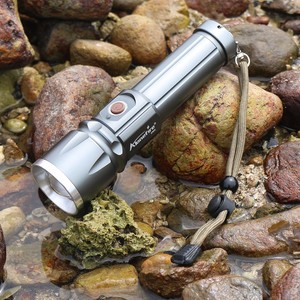 Image 5 - AloneFire X900 CREE XM L2 T6 Aluminum Outdoor LED Flashlight Torch Zoom Zaklamp lantern For 26650 or 18650 Rechargeable Battery