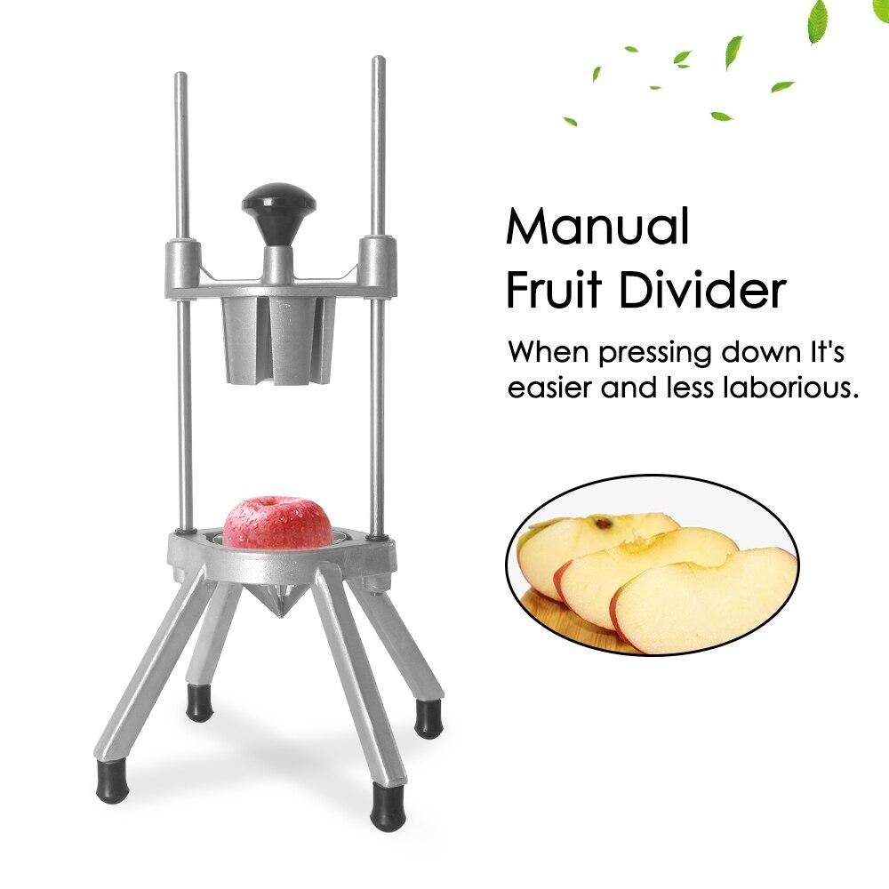 Fruit Cutter Handvat Groente Fruit Slicer Tool Rvs Apple Oranje Citroen Divider Exquise Keuken Gadgets - 3