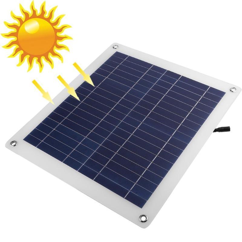 For 12V Car Battery Mini Solar Panel 18V Polycrystalline Silicon Solar Panel Laminates For Solar System Battery DIY Kit