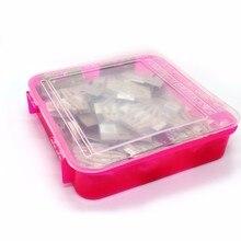 Ограниченное предложение Пластик Многофункциональный Обложка прочные комплект прозрачный канцелярские Косметика утолщаются простой розовый влагостойкие box WH19
