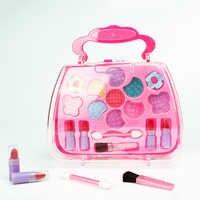 1 PC Mädchen Pretend Spielen kinder Kosmetik Prinzessin Make-Up Box Handtasche Form Lidschatten Lippenstift Sicher Ungiftig Mädchen Spielzeug geburtstag